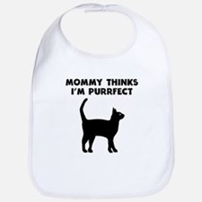 My Mommy Thinks Im Purrfect Bib