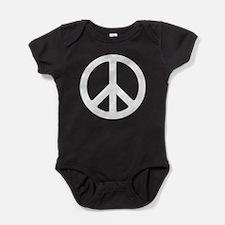 Peace Symbol Baby Bodysuit