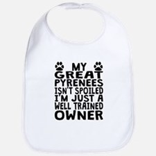 Well Trained Great Pyrenees Owner Bib