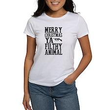 Merry Christmas, Ya Filthy Animal T-Shirt
