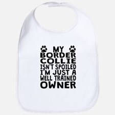 Well Trained Border Collie Owner Bib