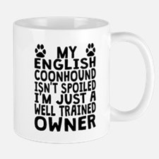 Well Trained English Coonhound Owner Mugs