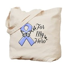 Stomach Cancer For My Hero Tote Bag