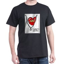 Unique Go red heart awareness for women T-Shirt