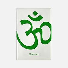 Namaste Om Symbol Magnets