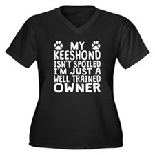 Well Trained Keeshond Owner Plus Size T-Shirt
