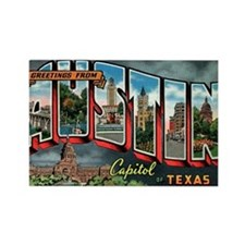 Cute Capitol city Rectangle Magnet (100 pack)