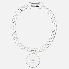 Director of Nurses Charm Bracelet, One Charm