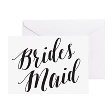 Unique Will you be my bridesmaid Greeting Card