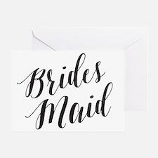 Cute Bridesmaids Greeting Card