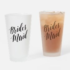 Cute Bridesmaids Drinking Glass