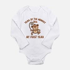 Born Year of The Monke Onesie Romper Suit