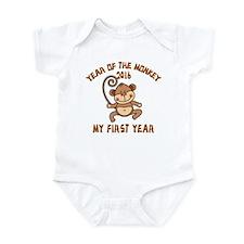 Born Year of The Monkey 2016 Onesie