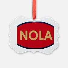 NOLA GOLD RED Ornament