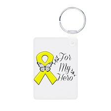 Sarcoma For My Hero Aluminum Photo Keychain