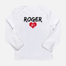 Funny Roger federer Long Sleeve Infant T-Shirt