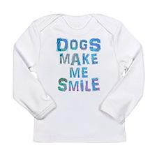 Cute Dog lover Long Sleeve Infant T-Shirt