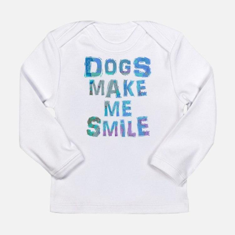 Cute Dog theme Long Sleeve Infant T-Shirt