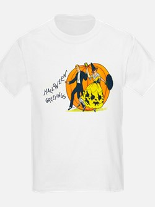Halloween Greetings 1920s T-Shirt