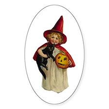 Halloween Thirteen Store Oval Decal