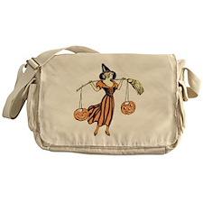 Vintage Halloween Dress 2 Messenger Bag