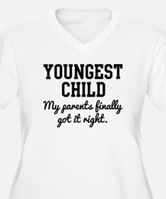 Youngest Child Plus Size T-Shirt