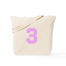 PINK #3 Tote Bag