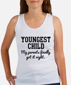 Youngest Child Tank Top