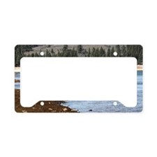 Unique Frenchmans License Plate Holder