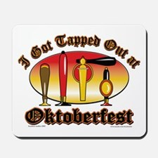 Oktoberfest Tappers Mousepad