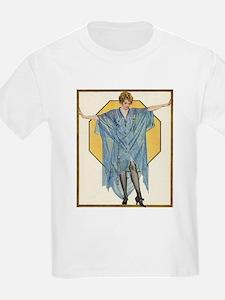 Flapper Woman Spider Web Gown T-Shirt