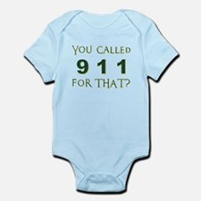 YOU CALLED 911 Body Suit