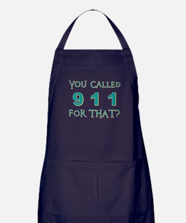 YOU CALLED 911 Apron (dark)