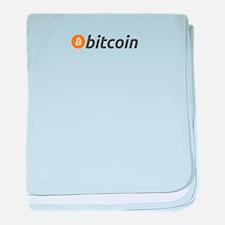 bitcoin baby blanket