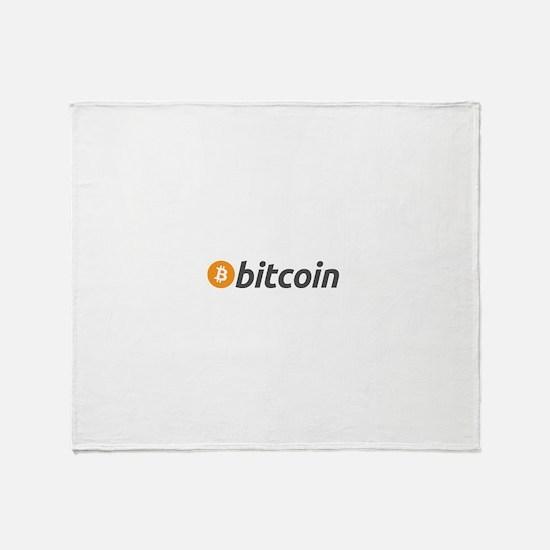 bitcoin Throw Blanket