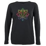 Weeds emblem copy.png Plus Size Long Sleeve Tee