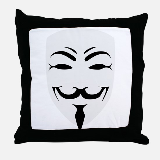 anonymous Throw Pillow