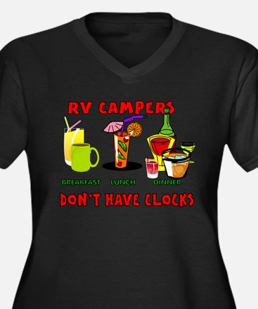 RV CAMPERS Plus Size T-Shirt