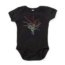 Unique Washington Baby Bodysuit