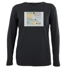 Walt Quotes - Breaking Bad Plus Size Long Sleeve T