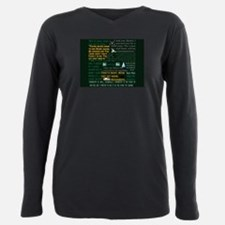 Walter Quotes - Breaking Bad Plus Size Long Sleeve