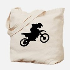 Motorcycle trials Tote Bag