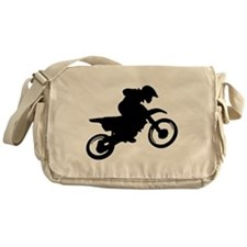 Motorcycle trials Messenger Bag
