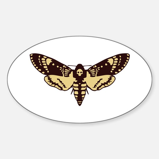 skull butterfly Decal