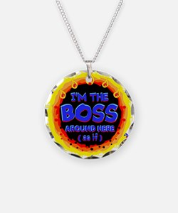 Im the BOSS Necklace