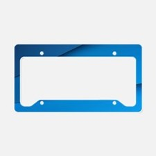 Abstract Layers License Plate Holder