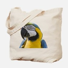 Funny Macaw Tote Bag