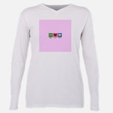 Cute I love cow Plus Size Long Sleeve Tee