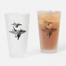 Funny Fighter jet Drinking Glass