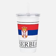 Serbia Acrylic Double-wall Tumbler